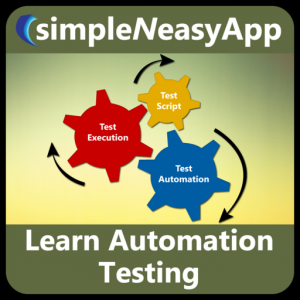 Learn Automation Testing and Test Driven Development - A simpleNeasyApp by WAGmob Mac OS X