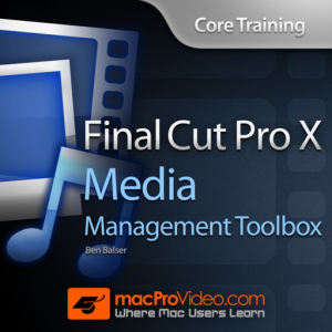 Course in Media Management for FCP X Mac OS X