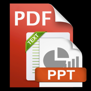 PDF to PPTX and Text Mac OS X