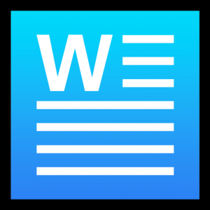 Word Writer - a simple word processor Mac OS X