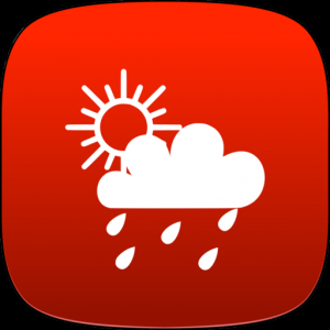 Weather Tab App Mac OS X