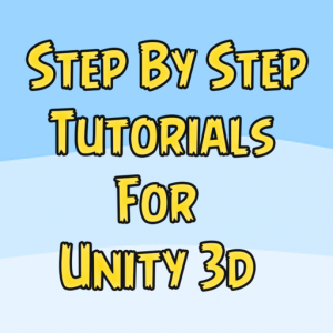 Step by Step Tutorials for Unity Game Development Mac OS X