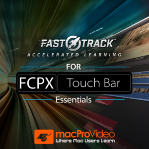 FastTrack™ for FCPX Touch Bar Mac OS X