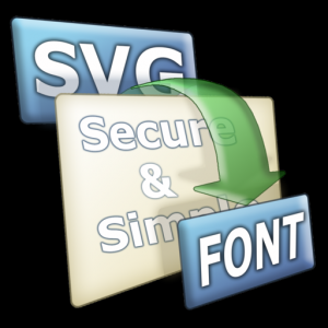 SVG to Font Mac OS X