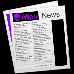 Alien News Pro - Modern News Reader for Reddit Mac OS X