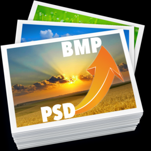 PSD To BMP - Convert multiple Images & Photos Mac OS X