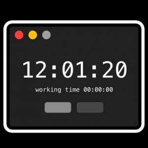 Work Clock Mac OS X