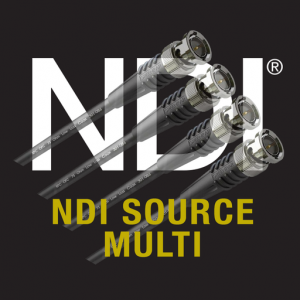 NDI Source Multi Mac OS X