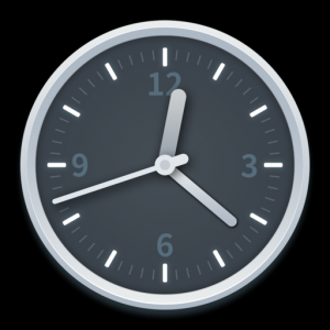 DDClock - Desktop & Dock Clock Mac OS X