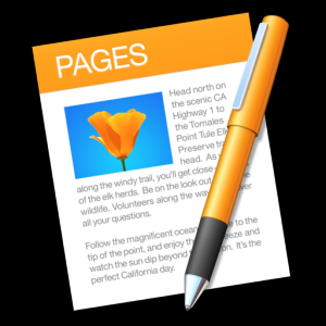 Pages Mac OS X