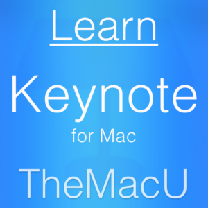 Learn - Keynote Edition Mac OS X