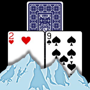 TriPeaks Solitaire card game Mac OS X