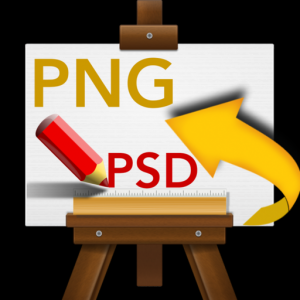 PSD To PNG - Convert multiple Images & Photos Mac OS X