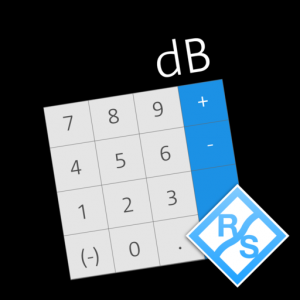 dB Calculator Mac OS X
